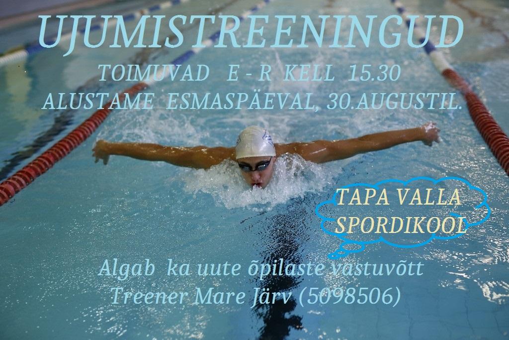 ujumistreeningud