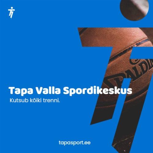 Tapa Valla Spordikeskus kutsub treenima Tamsallu ja Tapale