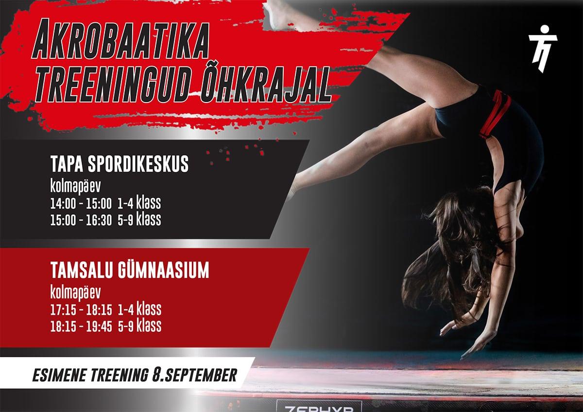 akrobaatika treeningud