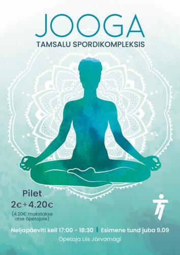 Jooga Tamsalu Spordikompleksis